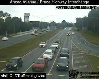 Anzac Avenue & Bruce Highway, QLD (East), QLD
