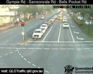 Gympie Road - Sampsonvale Road - Bells Pocket Road
