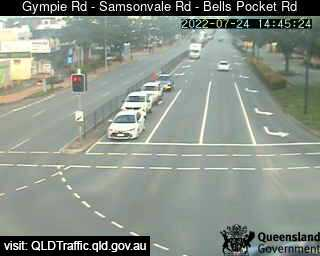 Gympie Road & Samsonvale Road & Bells Pocket Road
