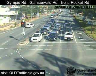 Gympie Road & Samsonvale Road & Bells Pocket Road