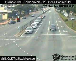 Gympie Road & Samsonvale Road & Bells Pocket Road, QLD (South), QLD