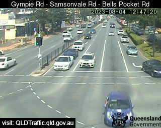 Gympie Road & Samsonvale Road & Bells Pocket Road, QLD