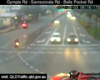 Gympie Road & Samsonvale Road & Bells Pocket Road, QLD