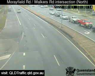 Traffic camera Morayfield - Morayfield Rd & Walkers Rd looking north - Caboolture Traffic, River Height and Weather Information