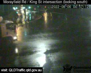 Traffic camera King St, Caboolture - Caboolture Traffic, River Height and Weather Information