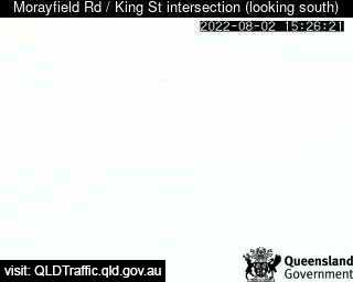 Webcam at Morayfield Road / King Street intersection Caboolture