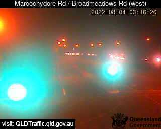 Webcam at Maroochydore Road / Broadmeadows Road Maroochydore