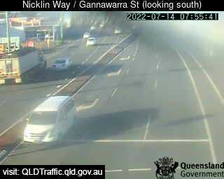 Webcam at Nicklin Way / Gannawarra Street Currimundi