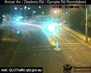 Webcam at Anzac Avenue / Dayboro Road / Gympie Road Roundabout Petrie