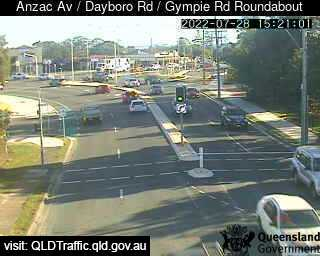 Anzac Avenue & Dayboro Road & Gympie Road Roundabout