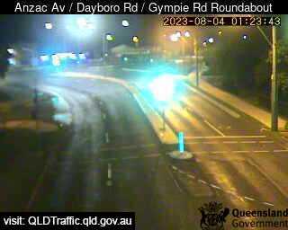 Anzac Avenue & Dayboro Road & Gympie Road Roundabout