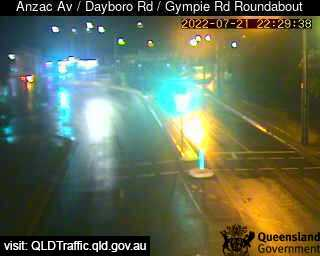 Anzac Avenue & Dayboro Road & Gympie Road Roundabout, QLD