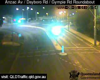 Anzac Avenue & Dayboro Road & Gympie Road Roundabout, QLD