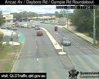 Anzac Avenue & Dayboro Road & Gympie Road Roundabout, QLD (Southwest), QLD