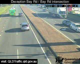 Webcam at Deception Bay Road / Bay Road intersection Deception Bay