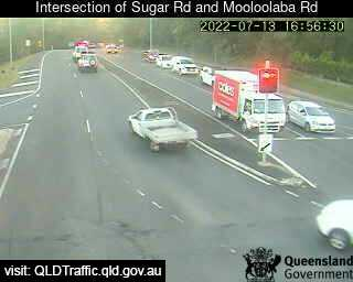 Webcam at Intersection of Sugar Road and Mooloolaba Road Alexandra Headland