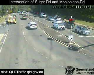 Intersection of Sugar Road and Mooloolaba Road