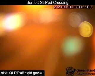 Burnett Street Pedestrian Crossing, QLD (West), QLD