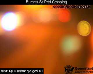 Burnett Street Pedestrian Crossing, QLD (West), QLD