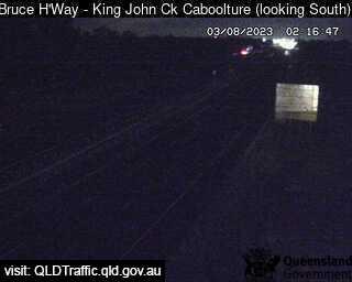 Bruce Highway near King John Creek, QLD
