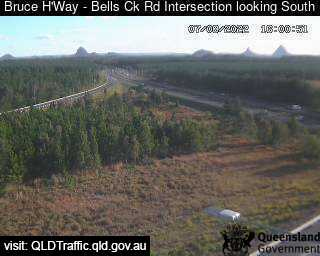 Bruce Highway & Bells Creek Road Intersection