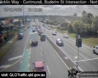Nicklin Way & Buderim Street Intersection, QLD