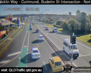 Nicklin Way & Buderim Street Intersection, QLD (Northwest), QLD