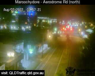 Webcam at Aerodrome Road Maroochydore
