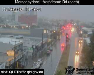 Aerodrome Road adjacent to Caltex Service Streetation