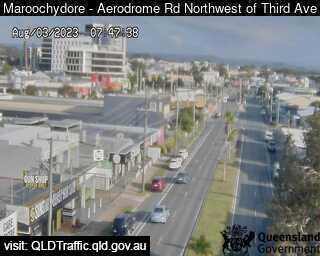 Aerodrome Road adjacent to Caltex Service Streetation, QLD