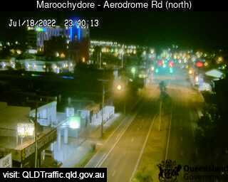 Aerodrome Road adjacent to Caltex Service Station, QLD