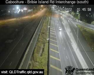 Webcam at Bribie Island Interchange over Bruce highway Caboolture South
