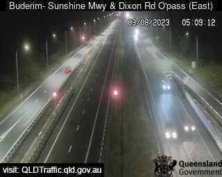 Sunshine Motorway & Dixon Road Overpass, QLD (East), QLD
