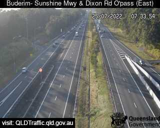 Sunshine Motorway & Dixon Road Overpass, QLD (East), QLD