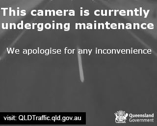 Webcam at Caloundra Road Interchange with the Bruce Highway Caloundra