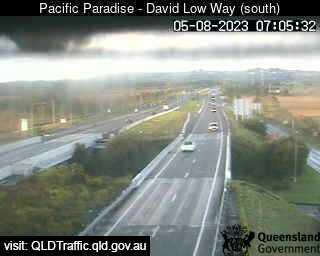 Sunshine Motorway & David Low Way Interchange, QLD