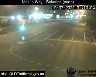 Webcam at Nicklin Way and Main Drive Bokarina
