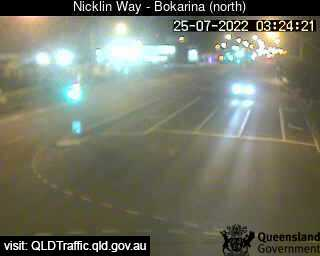 Nicklin Way & Main Drive Intersection, QLD (North), QLD
