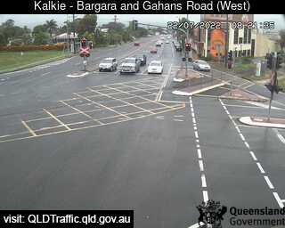 Webcam at Bargara Road and Gahans Road Kalkie