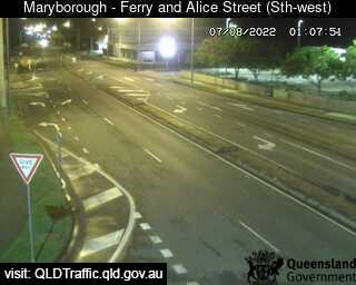 Webcam at Ferry Street and Alice Street Maryborough