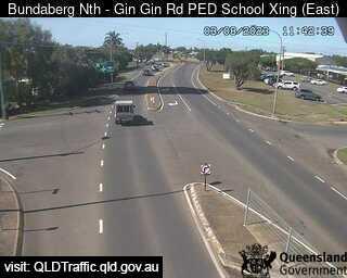 Gin Gin Road School Pedestrian Crossing, QLD (SouthEast), QLD