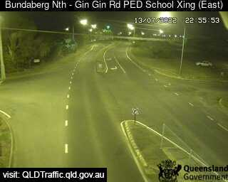 Gin Gin Road School Pedestrian Crossing