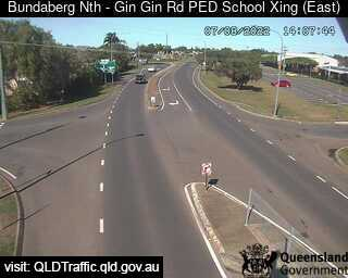 Gin Gin Road School Pedestrian Crossing, QLD