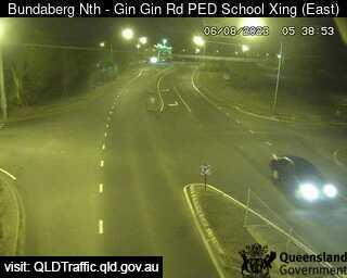 Gin Gin Road School Pedestrian Crossing, QLD