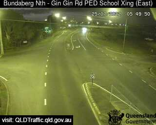 Gin Gin Road School Pedestrian Crossing, QLD (SouthEast), QLD