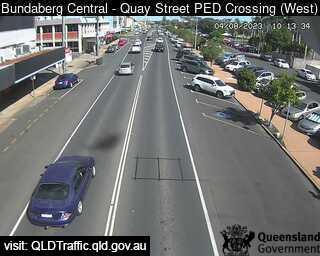 Quay Street Pedestrian Crossing, QLD